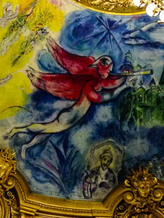 Chagall ceiling – Opéra Garnier