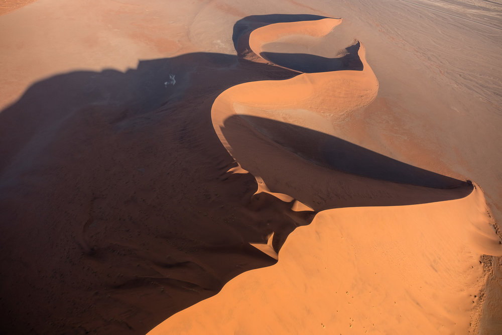 Dunes from the helicopter