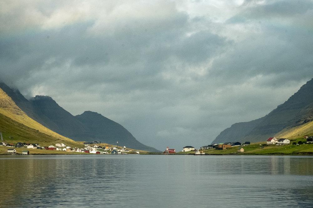 Norddepi Harbour, Faroes