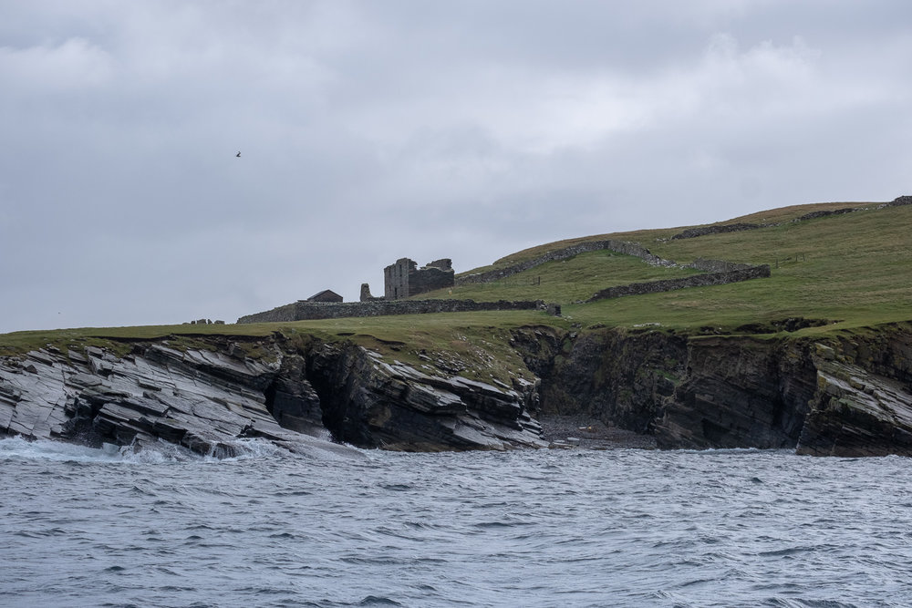 Ruined manor farm, Shetlands