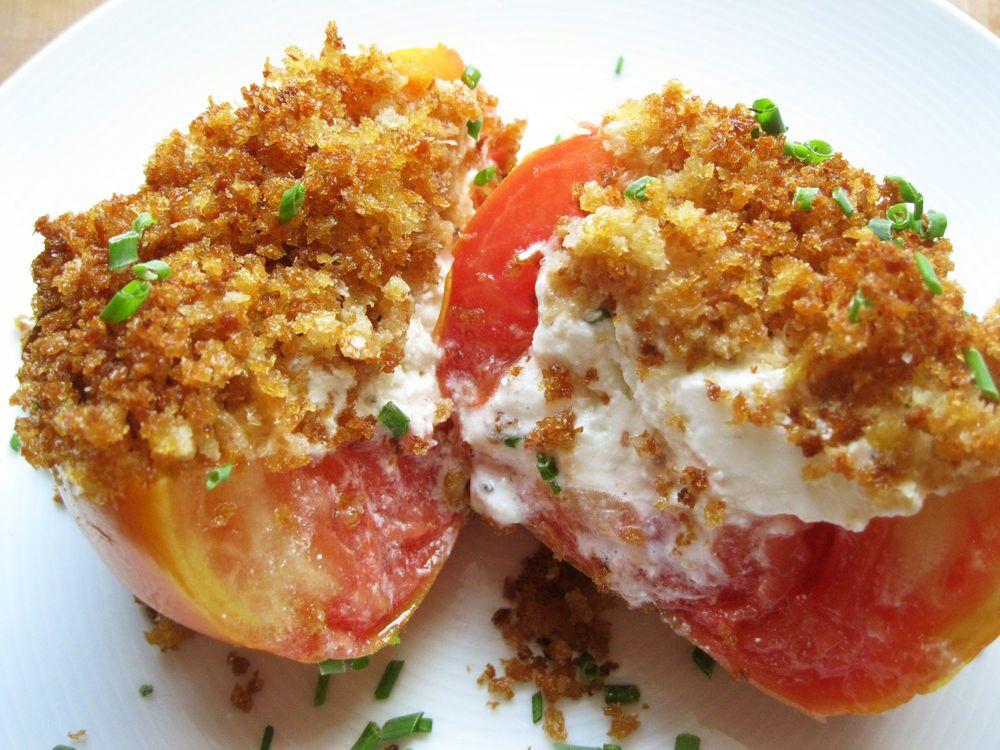 goat cheese stuffed tomatoes.JPG