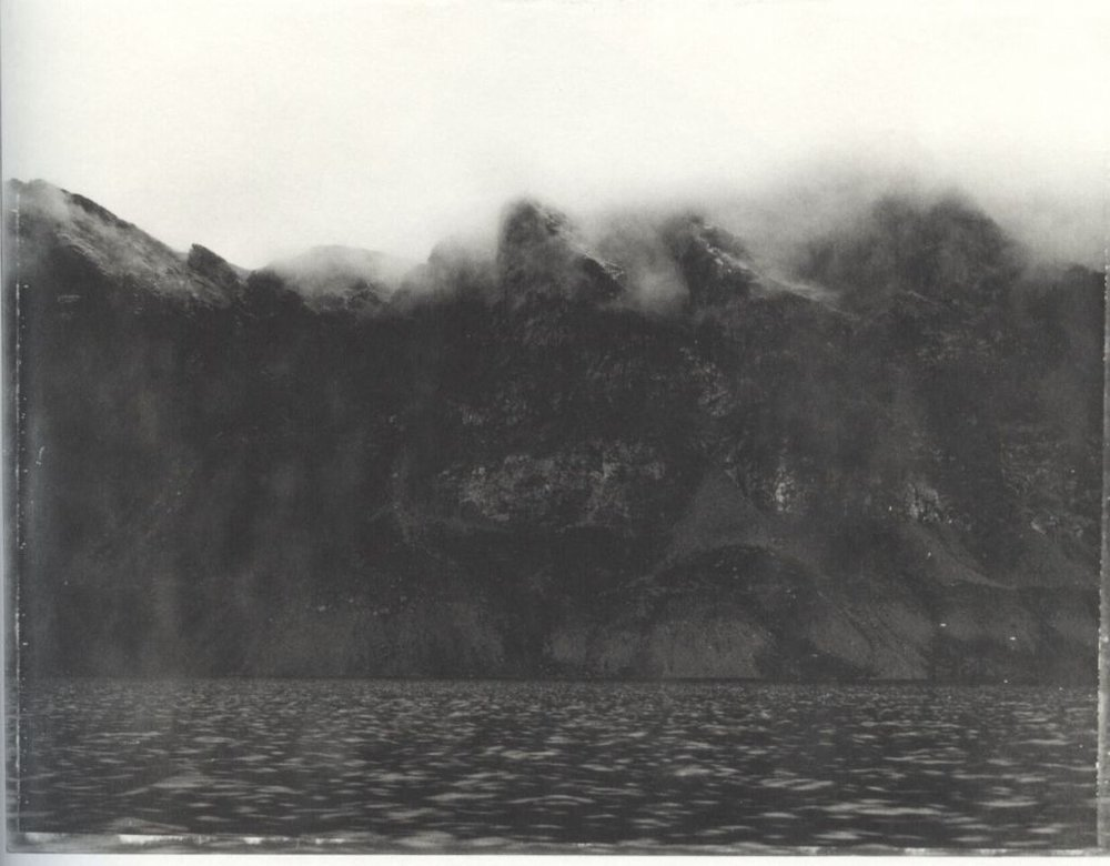 "'On Pangnirtung Fyord"" by Robert Frank from the book  Pangnirtung ."