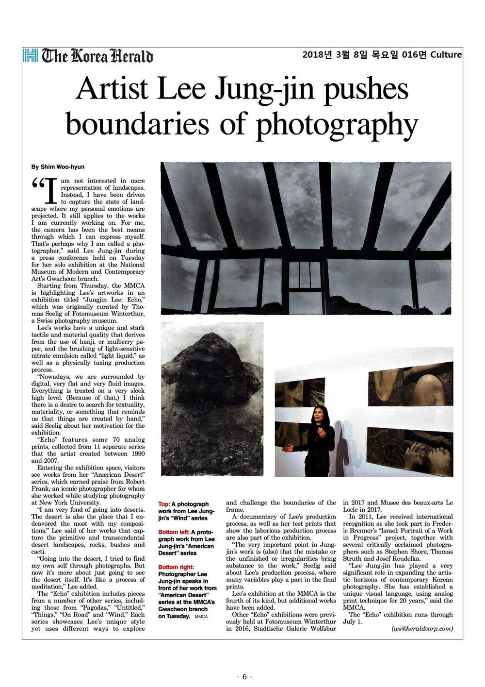 20180308_코리아헤럴드_ Artist Lee Jung-jin pushes boundaries of photography.jpg