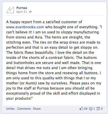 Purnaa customer