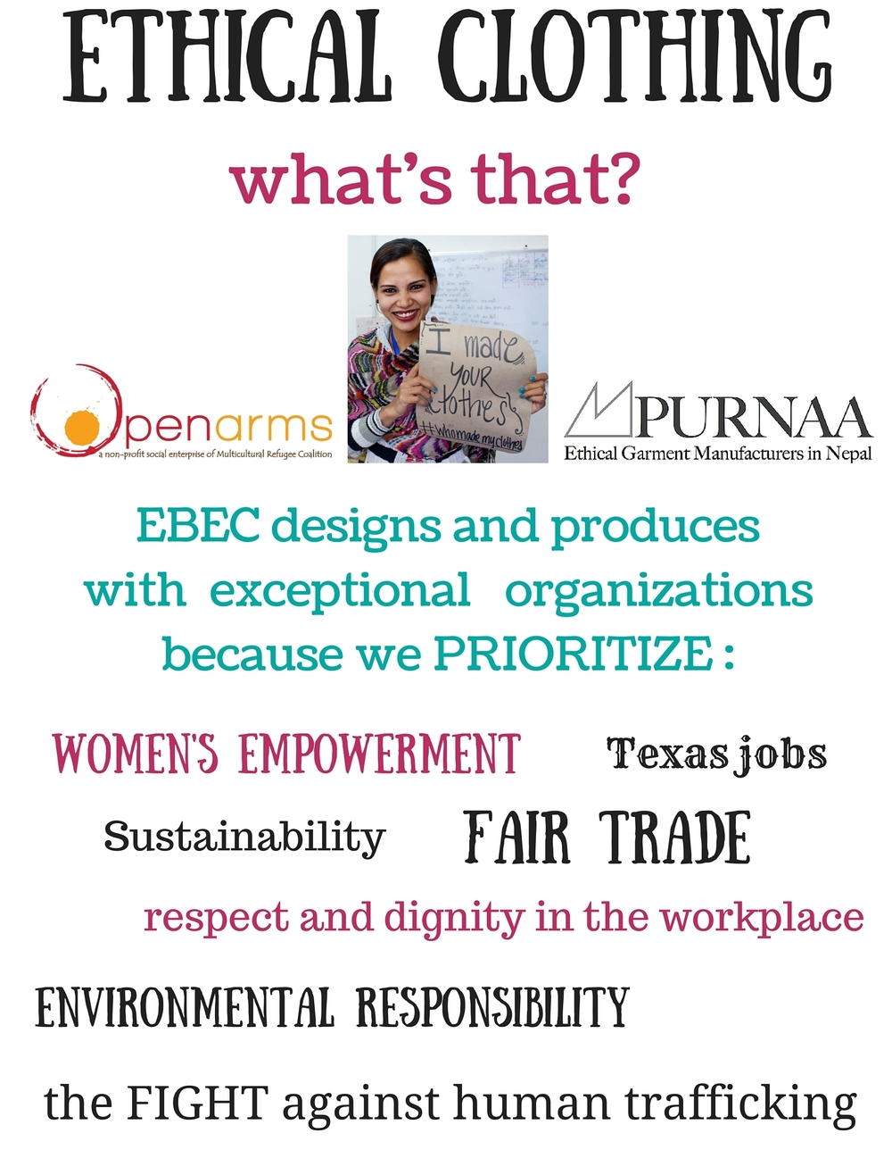 what is ethical clothing fair trade womens empowerment