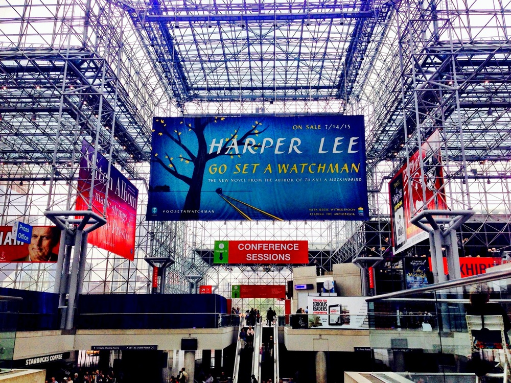 One of the halls at BEA