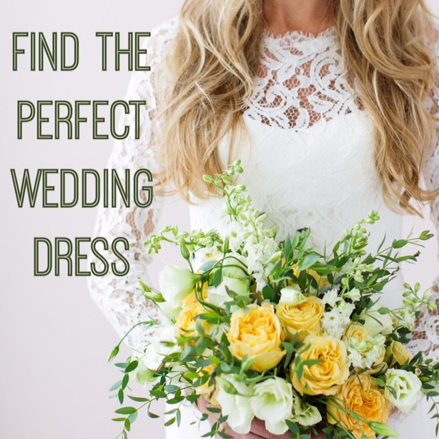 How To Find The Perfect Wedding Dress For Your Wedding