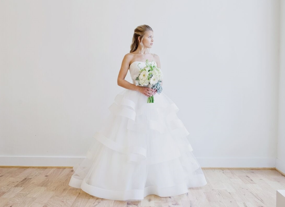 Anne Barge Castellane, Photo Kate Magee Photography for Annalise Bridal