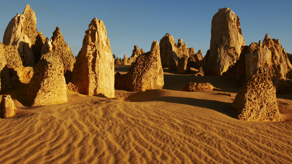 Explore the    Ancient Pinnacles