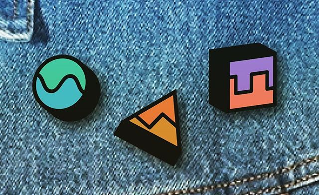 Synth-heads, would you buy these pins? #wavy . . . . . . . #synthesizer #synth #synthwave #synths #synthesizers #producer #aesthetic #aesthetics