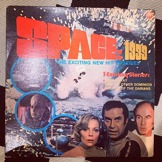 Space: 1999 turns -20 this year. Gosh I love living in the age of intergalactic travel.