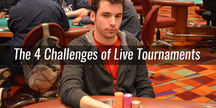 - Professional MTT player Steven Tabb discusses 4 major challenges to live tournament circuit poker players from his experience in over 8 years of MTTs.