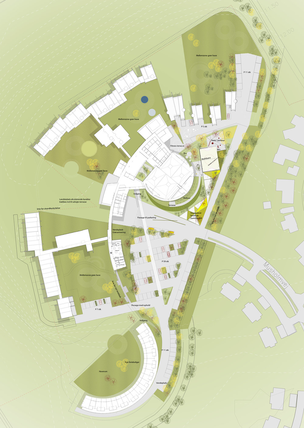 Plan: URBANlab nordic in cooperation with AART architects