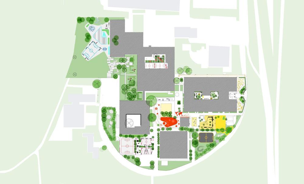Plan: URBANlab nordic in cooperation withWHITE arkitekter