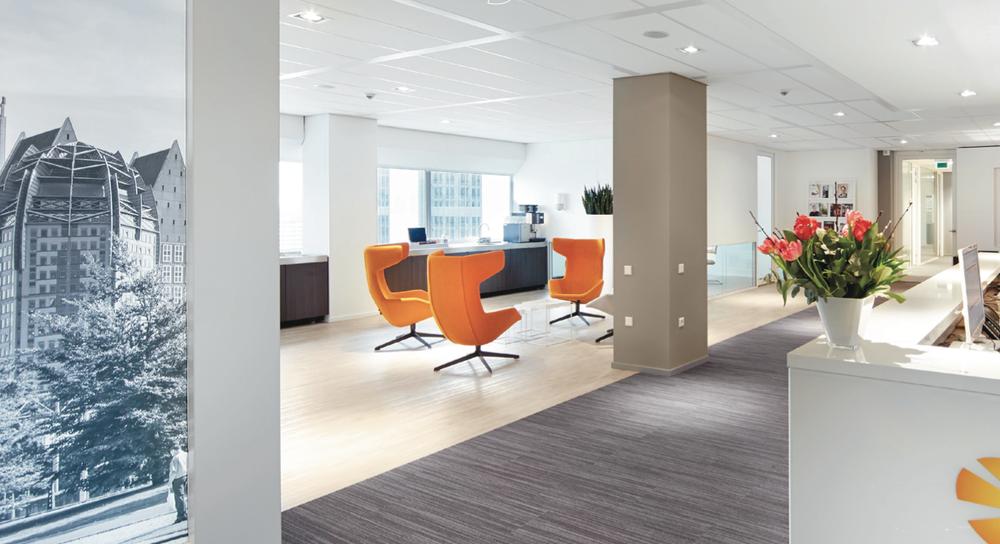 Interieurarchitect kantoorpand den haag kifid for Interieur den haag