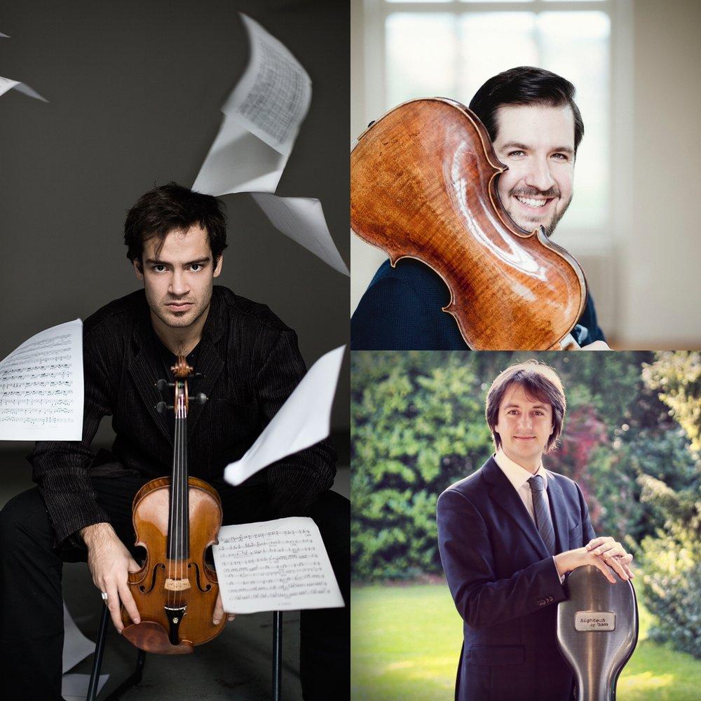 Marc Bouchkov, Violine Lech Antonio Uszynski, Viola Sebastian Uszynski, Cello