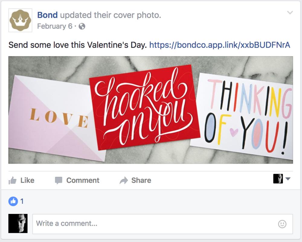 Social media,Valentine's Day