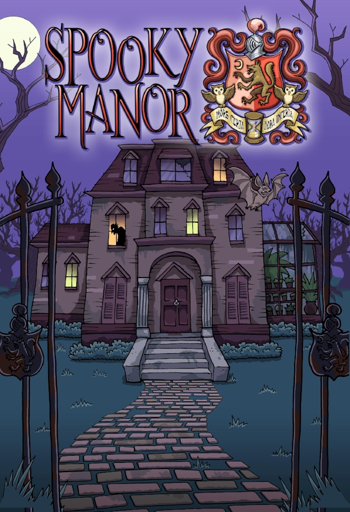 Spooky Manor - The job was simple: deliver a package to the reclusive resident of a mysterious mansion. But all is not as it seems....
