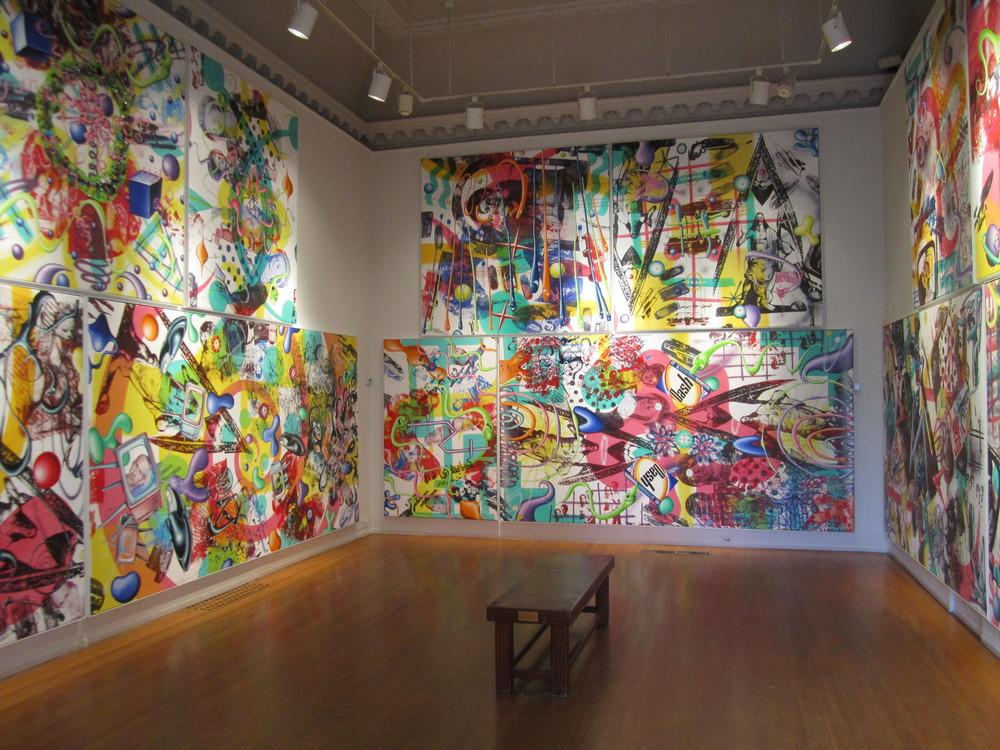 Kenny Scharf,  Pop Renaissance , Nassau County Museum of Art