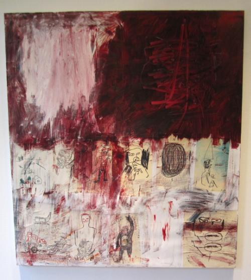 Jean-Michel Basquiat,  Third Street,  1984
