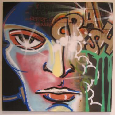CRASH,  Graffiti Painting
