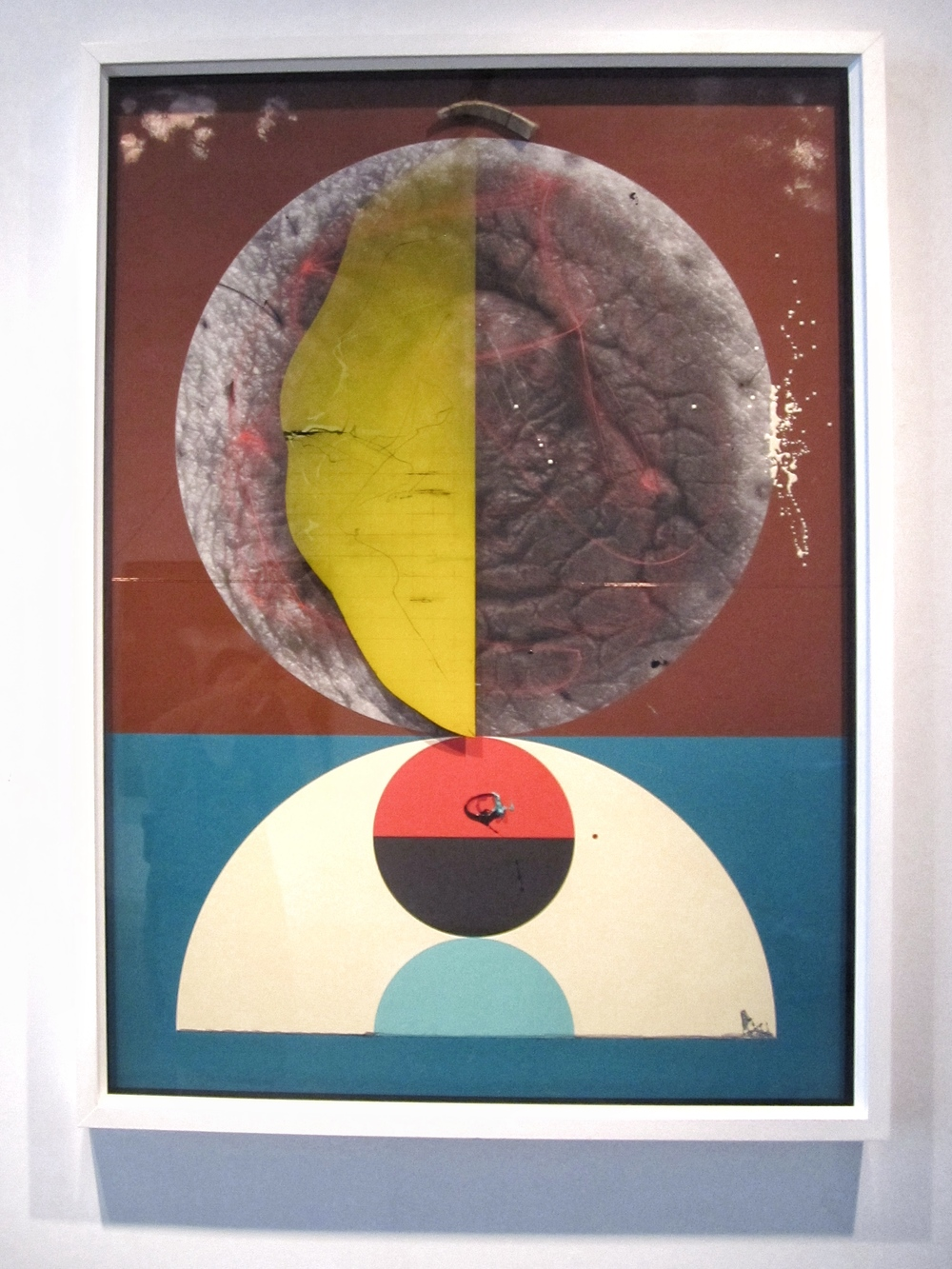 Aditya Pande , Half Life Form III , Mixed media on archival paper, 2012