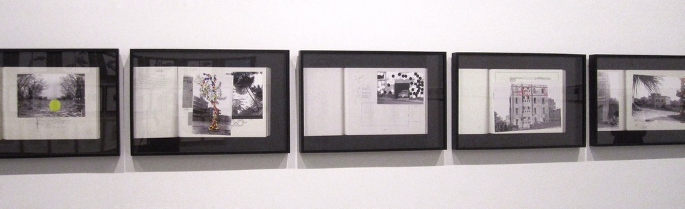 Walid Raad,  Let's be honest, the weather helped,    installation view ,  1998, pigmented inkjet print
