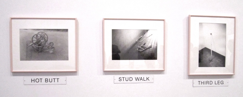 Ray Navarro,  Equipped,  1990. Gelatin silver prints and plastic plaques