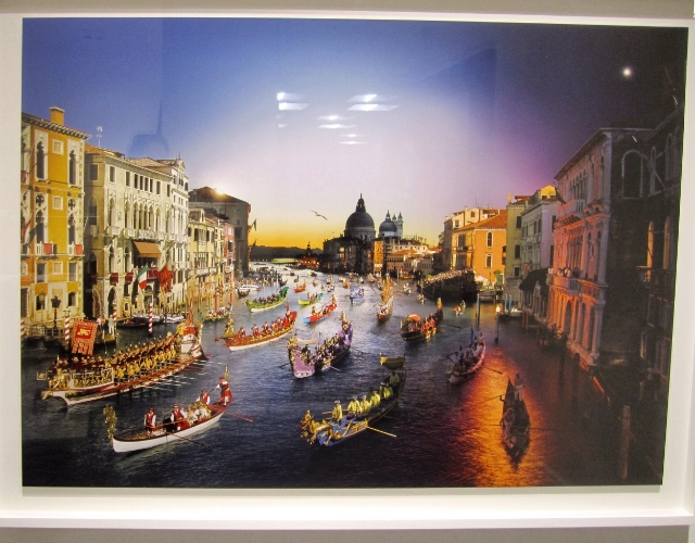 STEPHEN WILKES Regata Storica, Venice, Italy (from the series Day to Night), 2015