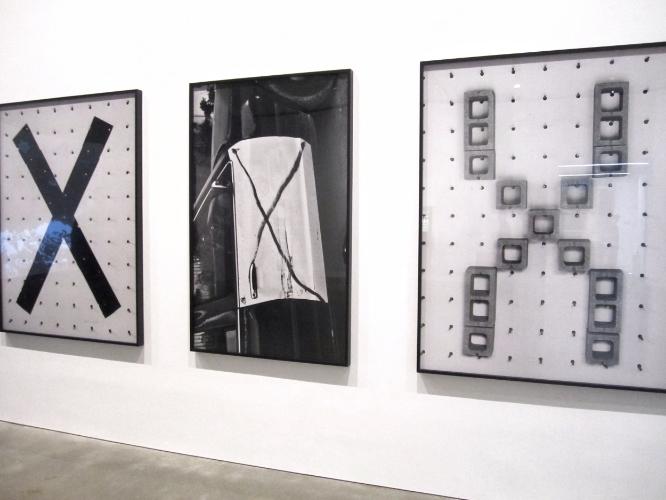 Shannon Ebner, EKS, XSYST, EXSIZ, XIS, 2011, Archival pigment prints