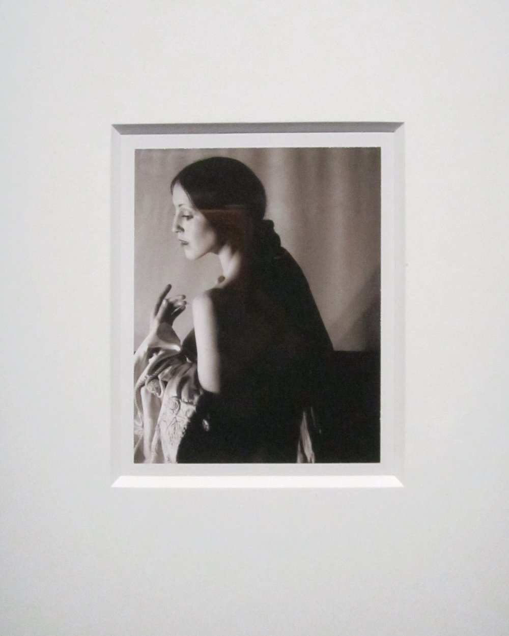 Robert Mapplethorpe,  Untitled (Terry),  Dye diffusion transfer print, 1974.