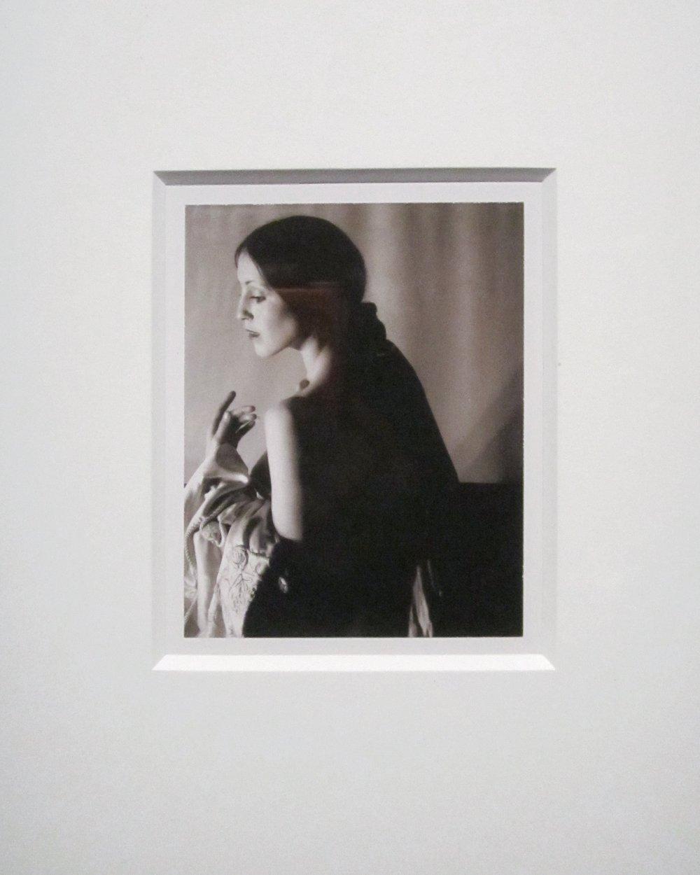 Robert Mapplethorpe, Untitled (Terry), Dye diffusion transfer print, 1974.