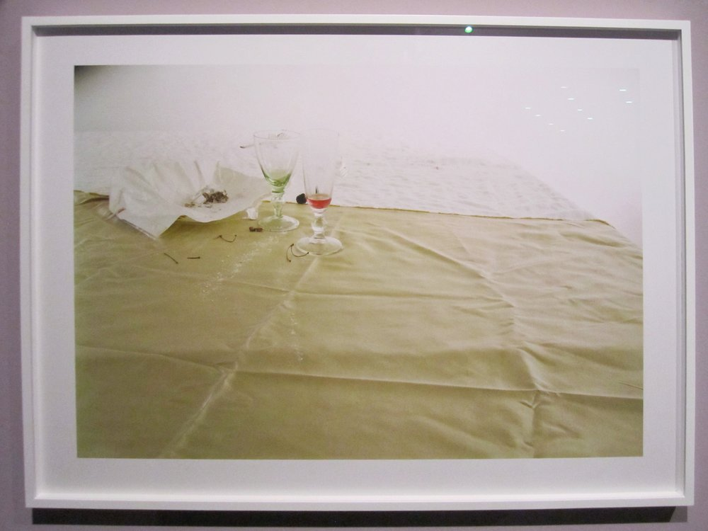 """Laura Letinsky, Untitled No. 48  from the series """"I did not remember I had forgotten"""", Chromogenic print, 2002, print 2007."""