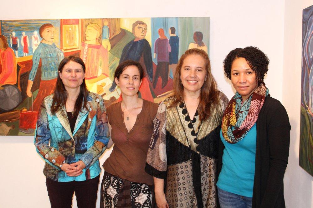 Aviva, Lisa Fox, Zoraida Anaya, and Michelle Montague