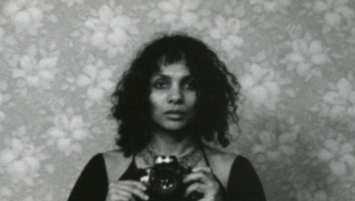 Ming Smith, Untitled (Self-Portrait with Camera), New York, NY, 1975