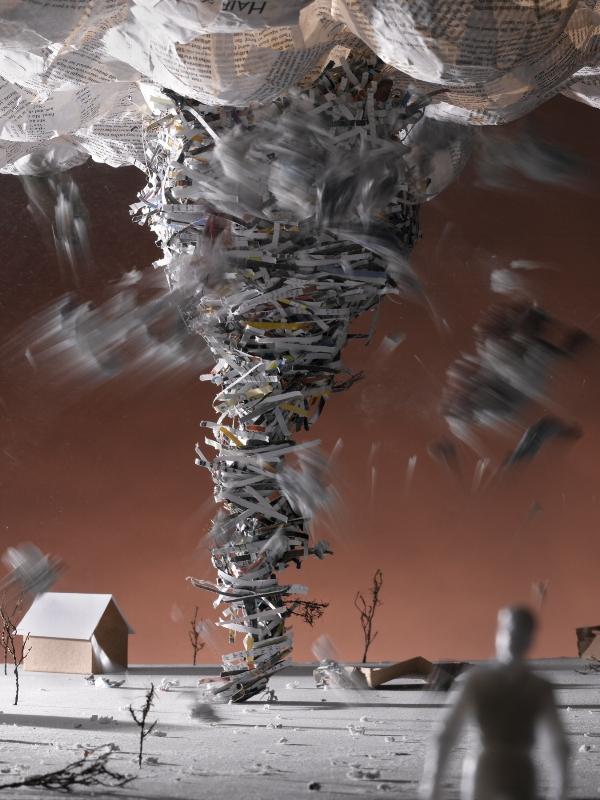 Kristen Kula, Tornado, from Magazine Landscapes