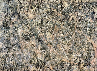 Form also takes into account the medium used, i.e. painting in the case of Jackson Pollock's Autumn Rhythm (1950)