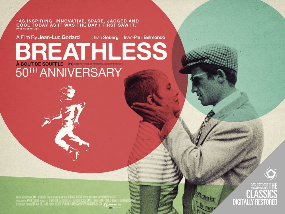 Jean-Luc Godard, Breathless (1960)