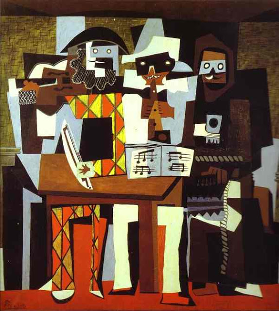 Pablo Picasso,Three Musicians(1921)