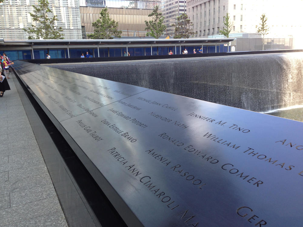 A shot James captured at the 9/11 Memorial in Downtown New York at the site of the World Trade Centre attack.