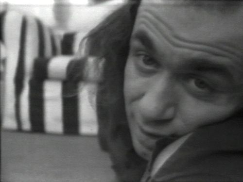 Eric was assigned Vito Acconci's video art work Theme Song (1973).