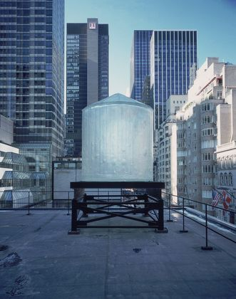 Durrah was assigned Rachel Whiteread's not so easy to locate  Water Tower  (1998) at MoMA.