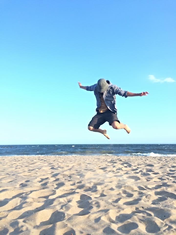 Cody enjoying Coney Island!