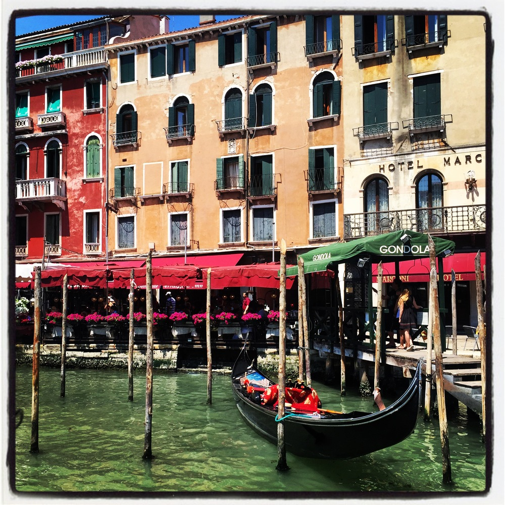 I captured this image from our vaporetto on the day of our arrival to Venice.