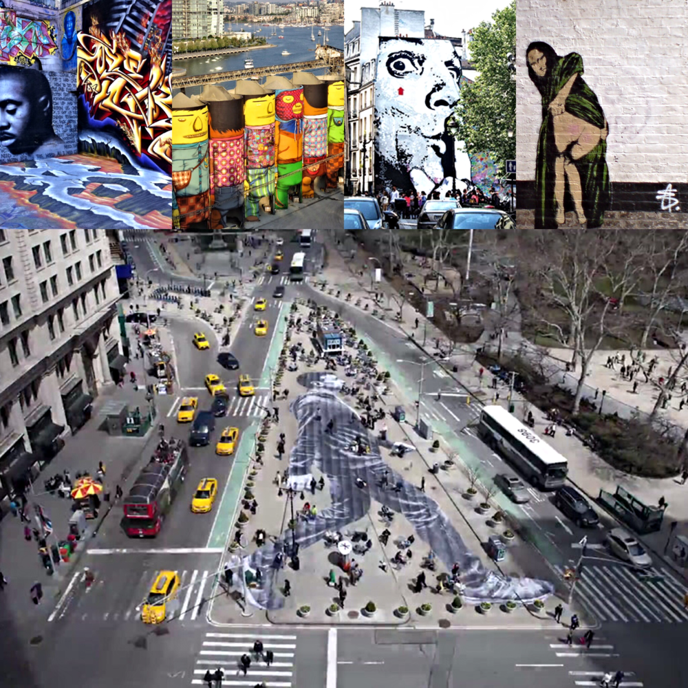 Graffiti and street art from around the world will be part of the focus in this special topics course. Come learn more about one of the most visible and highly circulatedart forms in the world today.