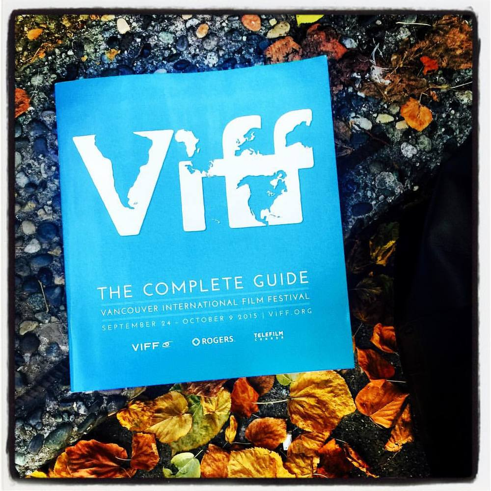 """It's the most wonderful time of the year...."" VIFF returns for its 34th year with 350 films from 70 countries. Photo by me via Instagram"