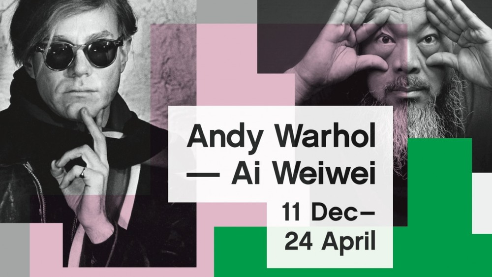 Andy meets Weiwei.... I would want to be a fly on that wall.