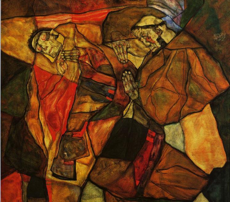 Egon Schiele, Agony  (1912)