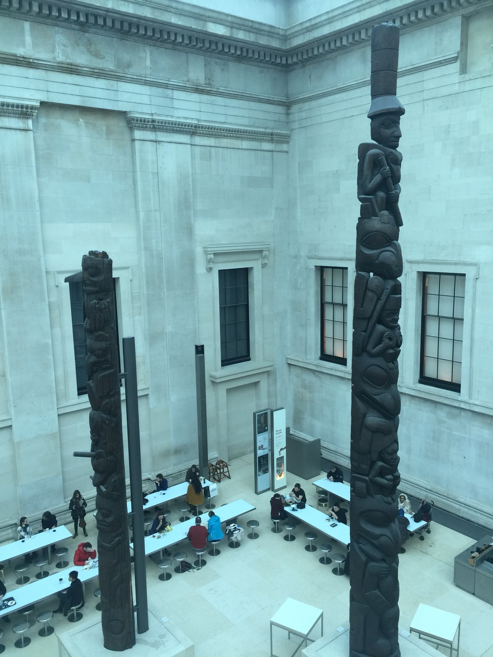 Seeing the Haida poles so dislocated from home brought a profound mix of feelings.