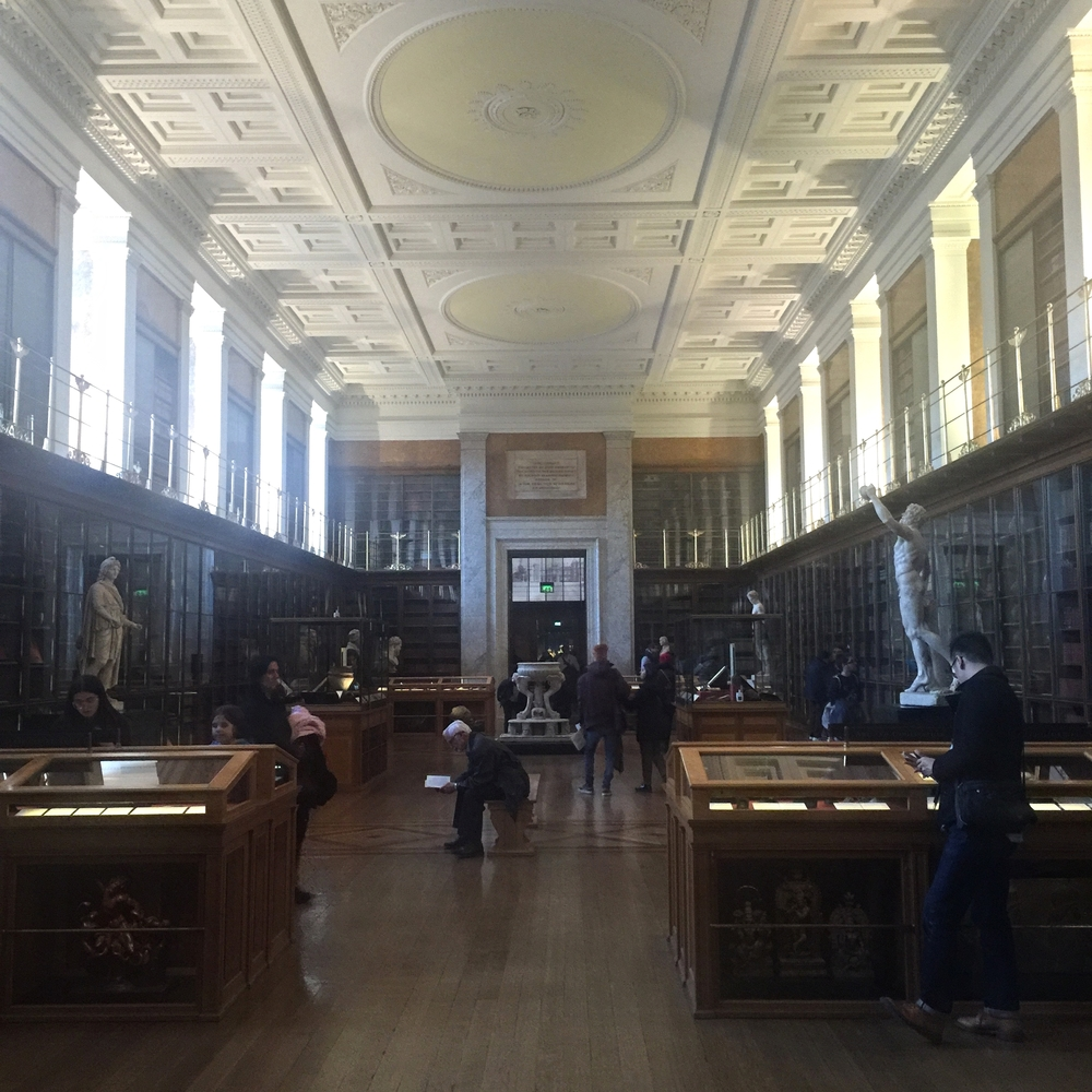 The Enlightenment room ended up as a surprise favourite space on my visit. It reminds me of my own scholarly training and roots.